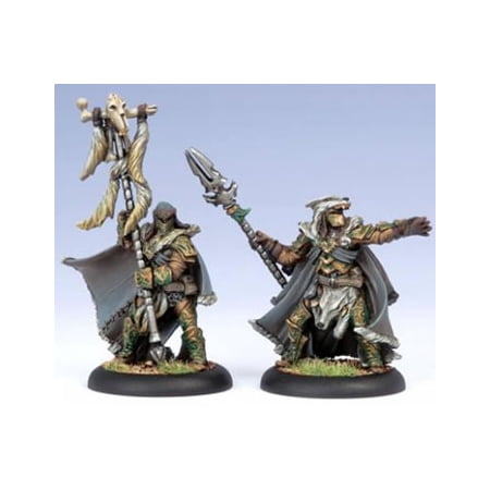 Wolves Of Orboros Chieftain And Standard Command Attachment Circle Hordes