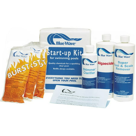 Blue Wave Pool Chemicals (blue wave medium pool chemical spring start-up kit)
