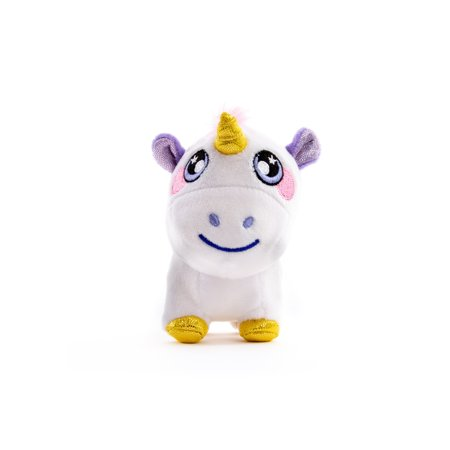 Squeezamals 3Deez, Slow-rise Foam Stuffed Animals, Unicorn-Nana