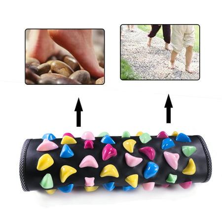 Foldable Walk Stone Foot Massager Mat Massaging Carpet 13.58x13.58inch