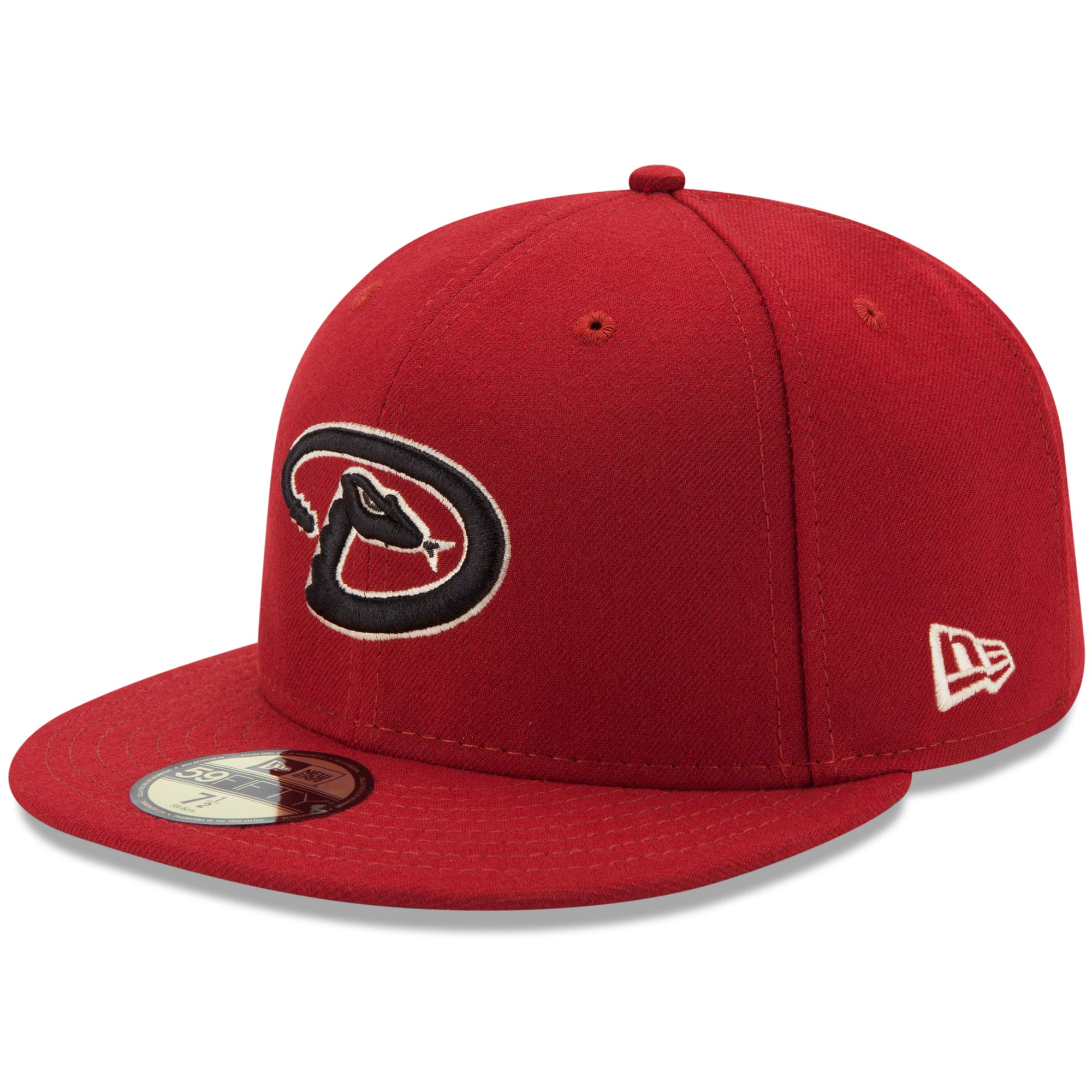 Arizona Diamondbacks New Era Alternate 4 Authentic On Field 59FIFTY Fitted Hat - Red