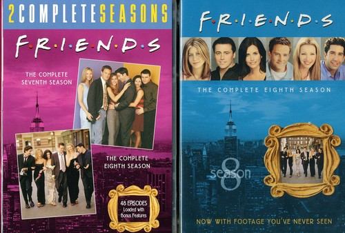 Friends: The Complete Seventh and Eighth Seasons by WARNER HOME VIDEO