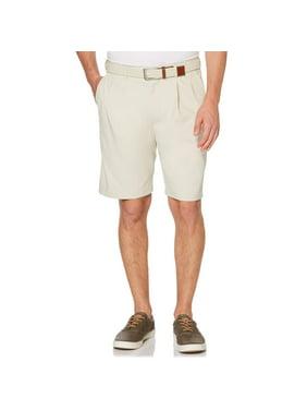 Savane Men's Pleated Microfiber Stretch Short