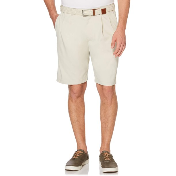 Savane Men's Pleated Microfiber Stretch Short