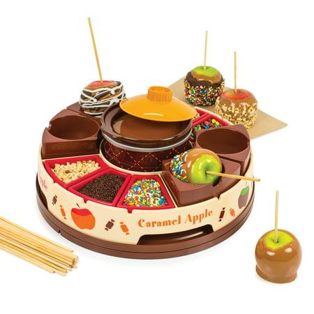 Nostalgia CCA5 Chocolate & Caramel Apple Party - Halloween Caramel Apple Bites
