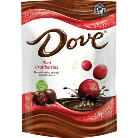Dove Dark Chocolate With Whole Cranberries Snack 6 Oz Walmart Com
