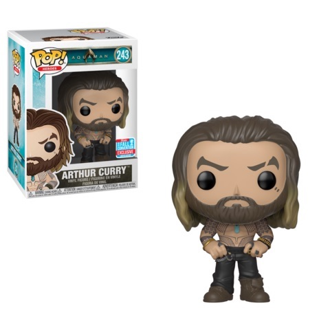 Funko Pop!Heroes: Aquaman - Arthur Curry shirtless (2018 Fall Convention Exclusive) #243