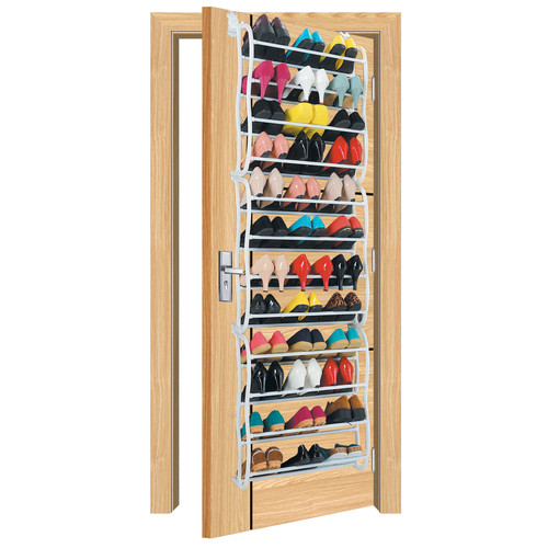 Vandue Corporation OnDisplay 12-Tier 36 Pair Overdoor Shoe Organizer