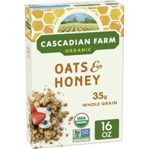 Breakfast Cereal: Cascadian Farms Oats & Honey