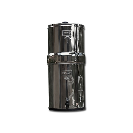 Imperial Berkey 4.5 Gallon SS Water Purifier | Includes 6 9 inch Ceramic Filters by Berkey