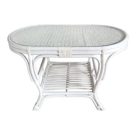 Rattan Wicker Home Furniture Alisa Coffee Table With Magazine Rack