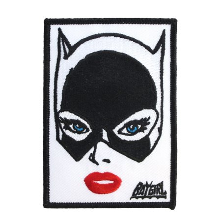 Pop Art Batgirl Patch Batman Heroine Character DC Comics Girls Iron-On Applique (Batgirl 20)
