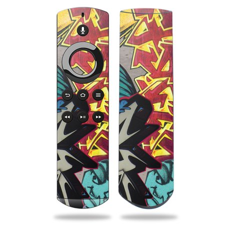 Skin for Amazon Fire TV Remote - Graffiti Wild Styles| MightySkins Protective, Durable, and Unique Vinyl Decal wrap cover | Easy To Apply, Remove, and Change Styles | Made in the USA