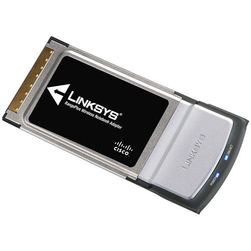 Refurbished Linksys WPC100 RangePlus Wireless Notebook Adapter