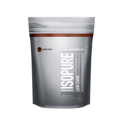 Isopure Low Carb Protein Powder, Chocolate, 50g Protein, 1
