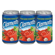 (2 Pack) Clamato Tomato Cocktail, Original, 5.5 Fl Oz, 6 Count