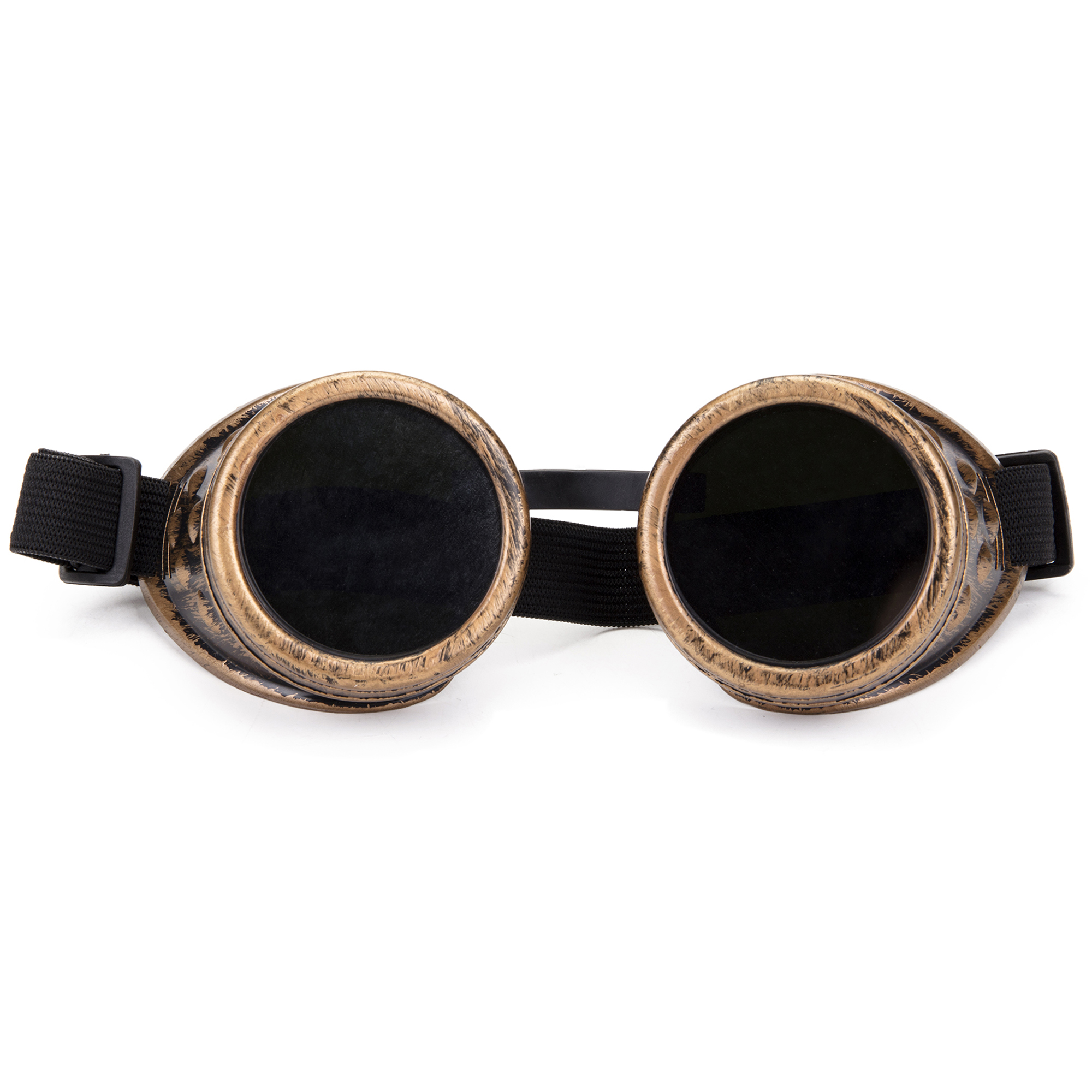 UK New Cosplay Vintage Glasses Victorian Steampunk Goggles Welding Goth Eyewear