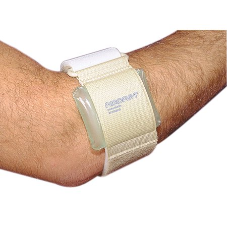 Aircast Tennis Elbow Brace - aircast pneumatic armband: tennis/golfers elbow support strap, black