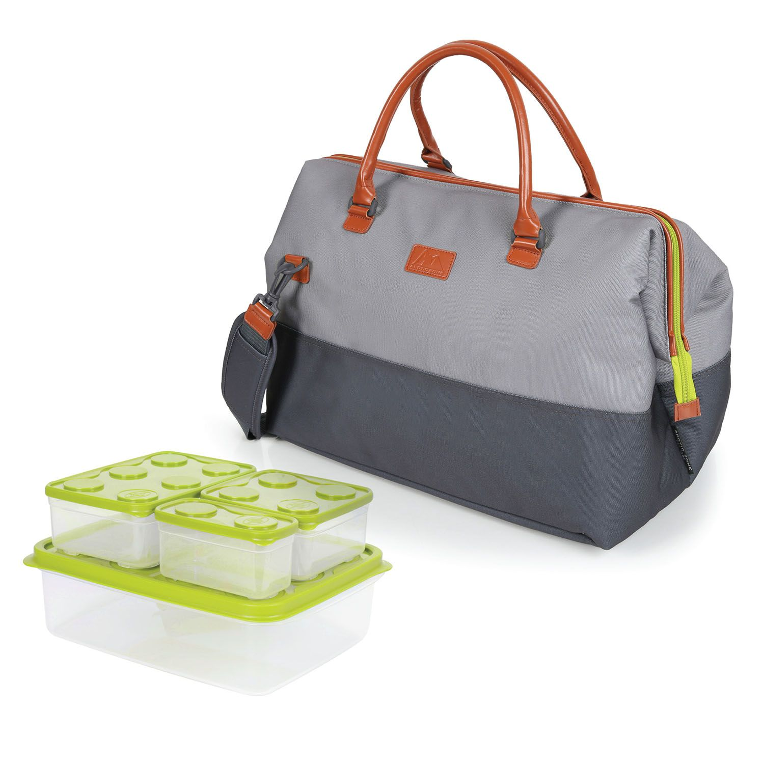 Arctic Zone Insulated Picnic Tote, Grey