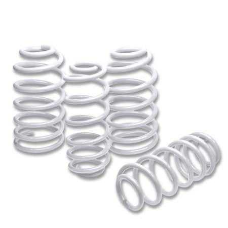 For 1997 to 2003 Pontiac Grand Prix Suspension Lowering Springs (White) 98 99 00 01 02