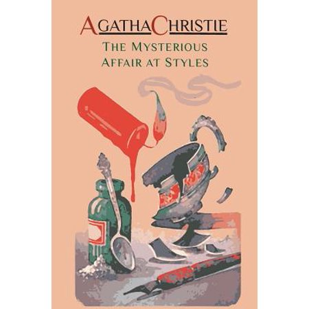 The Mysterious Affair at Styles : Hercule Poirot's First Case (Hercule Poirot Mysteries)](Halloween Party Agatha Christie's Poirot)
