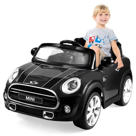 Costway Bmw Mini Hatch 12V Electric Kids Ride On Car Licensed Mp3 Rc Remote Control
