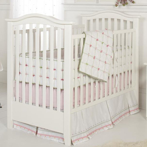 Whistle and Wink Tufted 3 Piece Crib Bedding Set