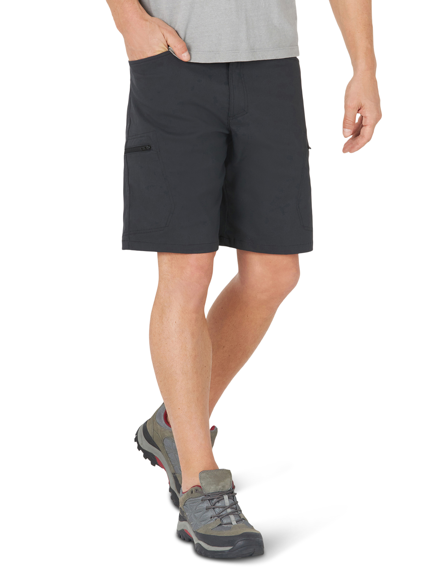 Wrangler Mens Shorts Relaxed Fit Cargo Outdoor Performance