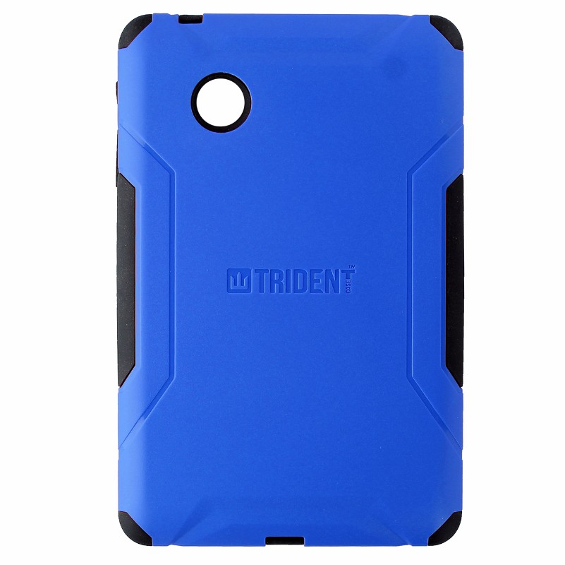 Trident Aegis Series Dual Layer Case For Verizon Ellipsis 7 Blue Black Refurbished Walmart Com Walmart Com