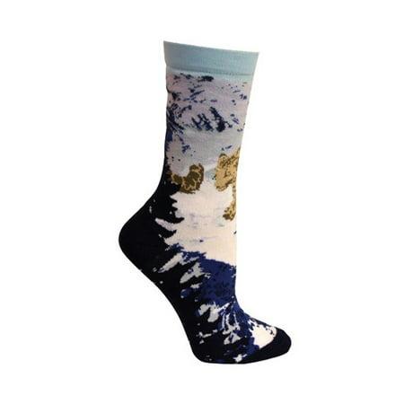 Leopard Smock - Women's Ozone Snow Leopard Crew Sock (2 Pairs)