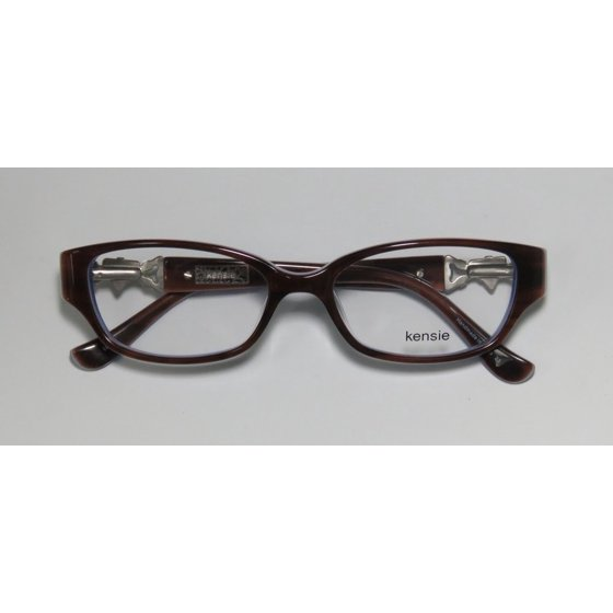 f770f00cd2 KENSIE Eyeglasses SHINE Brown 47MM - Walmart.com