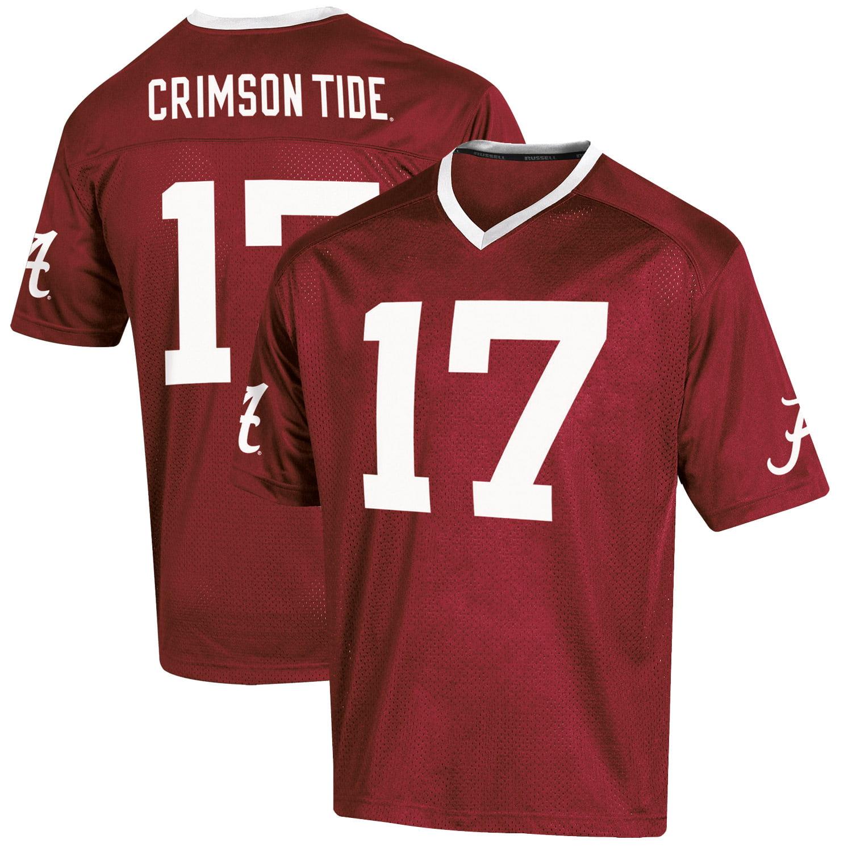 Youth Russell Crimson Alabama Crimson Tide Replica Football Jersey