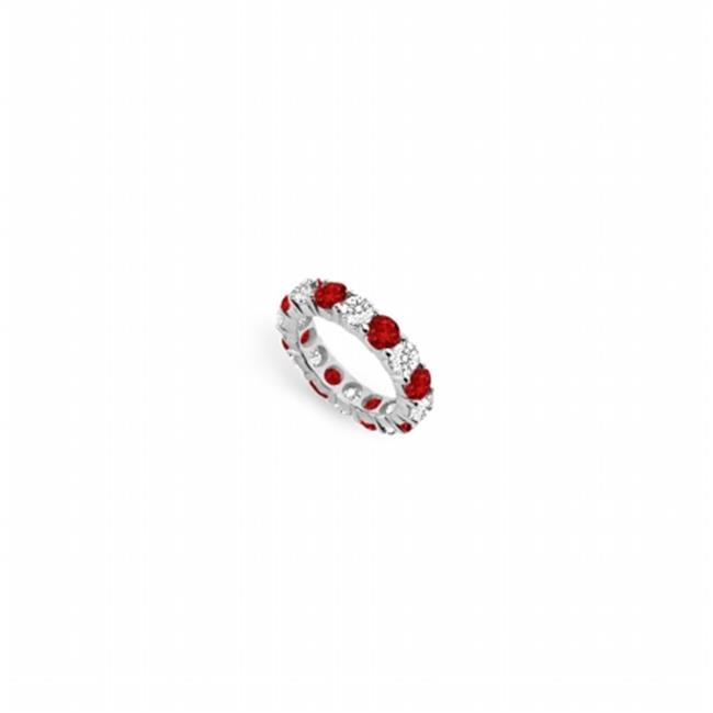 FineJewelryVault UB14WR500DR226225-101RS9.5 Diamond & Rub...