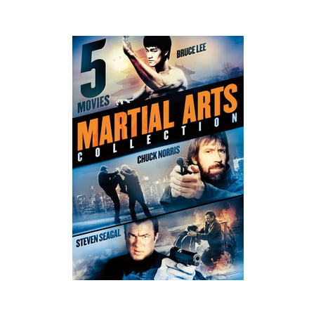 5-Movie Martial Arts Collection: East Meets West (DVD)