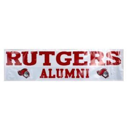 Rutgers Scarlet Knights High Quality Decal - Rutgers Scarlet Knights Over Alumni