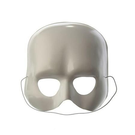 Plastic Eye Mask Domino - Red Hood Domino Mask