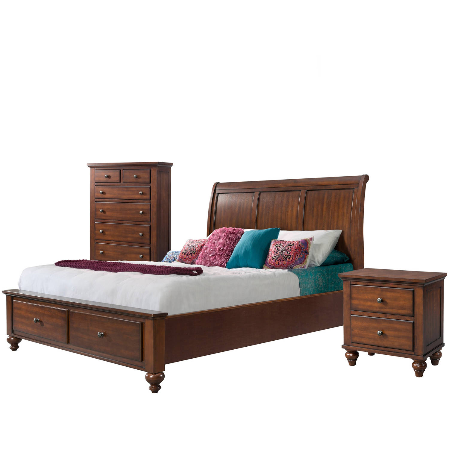 Picket House Furnishings Channing Queen Storage 3PC Bedroom Set
