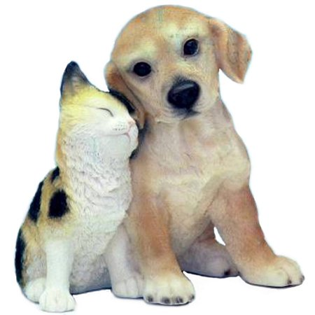 Gift Link Golden Retriever Puppy with Kitty Money Bank