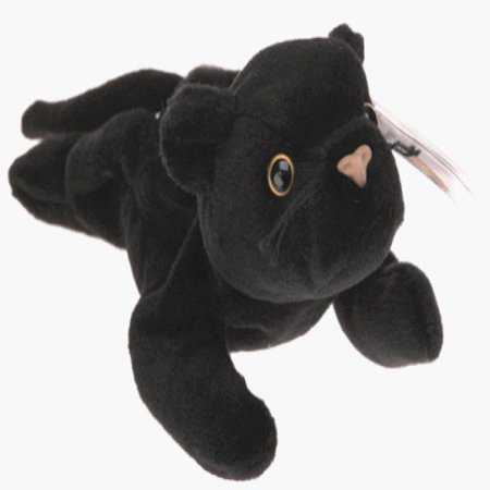 TY Beanie Baby - VELVET the Black Panther (4th Gen hang tag)