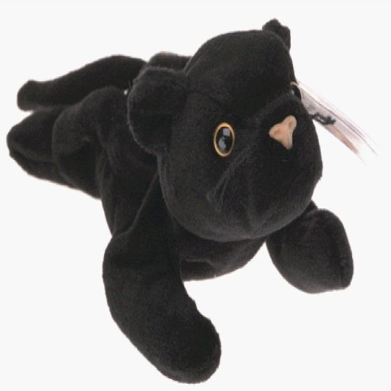 TY Beanie Baby - VELVET the Black Panther (4th Gen hang tag) - Walmart.com 36fa56bbe427