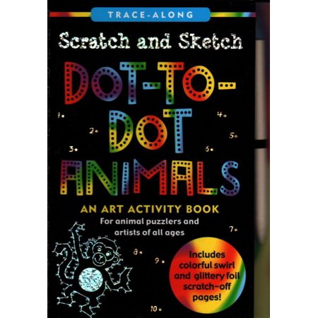Scratch Art Animals (Scratch and Sketch Dot-to-Dot Animals)