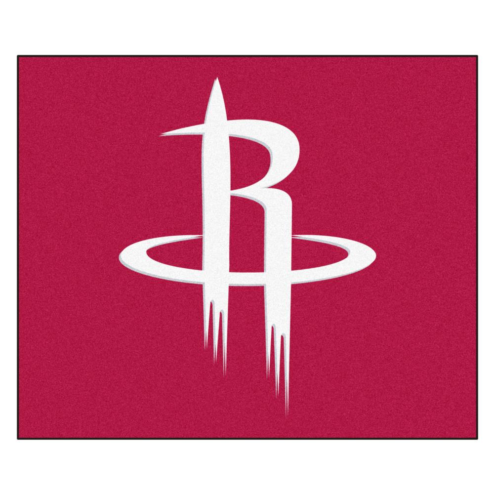 Houston Rockets Economy 5 Foot x 6 Foot Mat