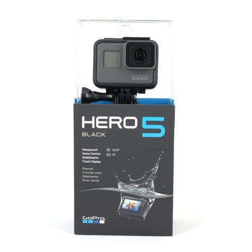 GoPro Hero 5 Black 4K UHD Action Camera CHDHX-501 Waterproof Camcorder