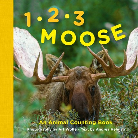 1, 2, 3 Moose : An Animal Counting - Animal Counting Book