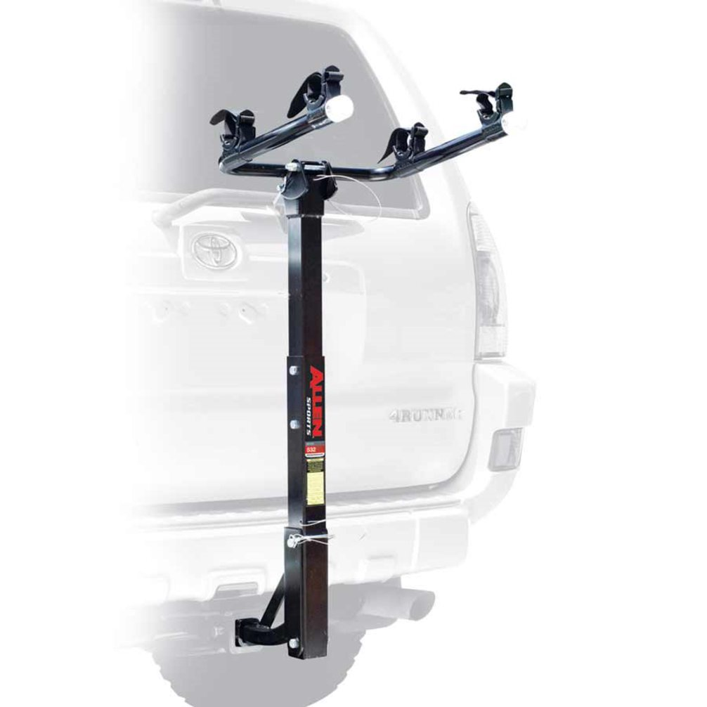 "Allen Sports 522RR Deluxe Hitch Mounted 2-Bike Carrier for 1 1/4"" and 2"" Receiver Hitches"