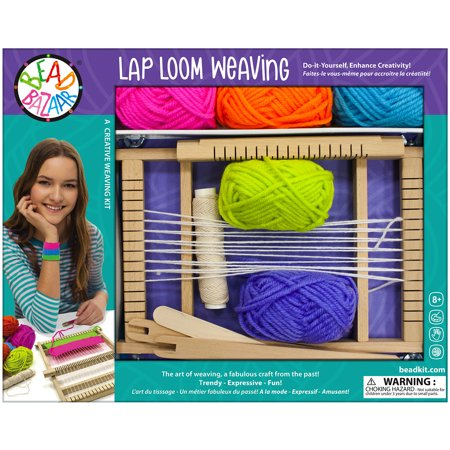 Lap Loom Weaving Kit-