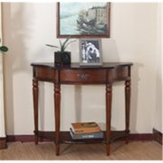 All Things Cedar HR328-124- CONSOLE DISPLAY TABLE