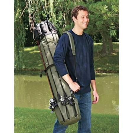 - Heavy Duty Fishing Rod Travel Carry Case Bag
