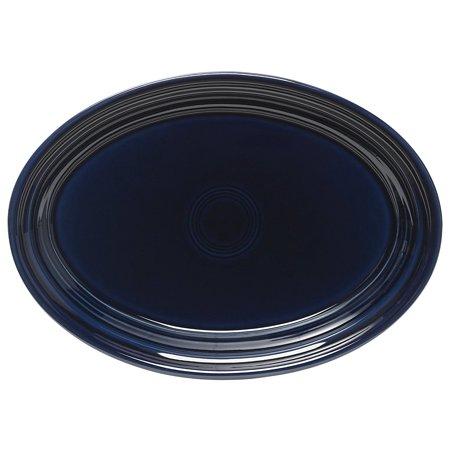 Fiesta 9-5/8-Inch Oval Platter, Cobalt China Fluted Platter