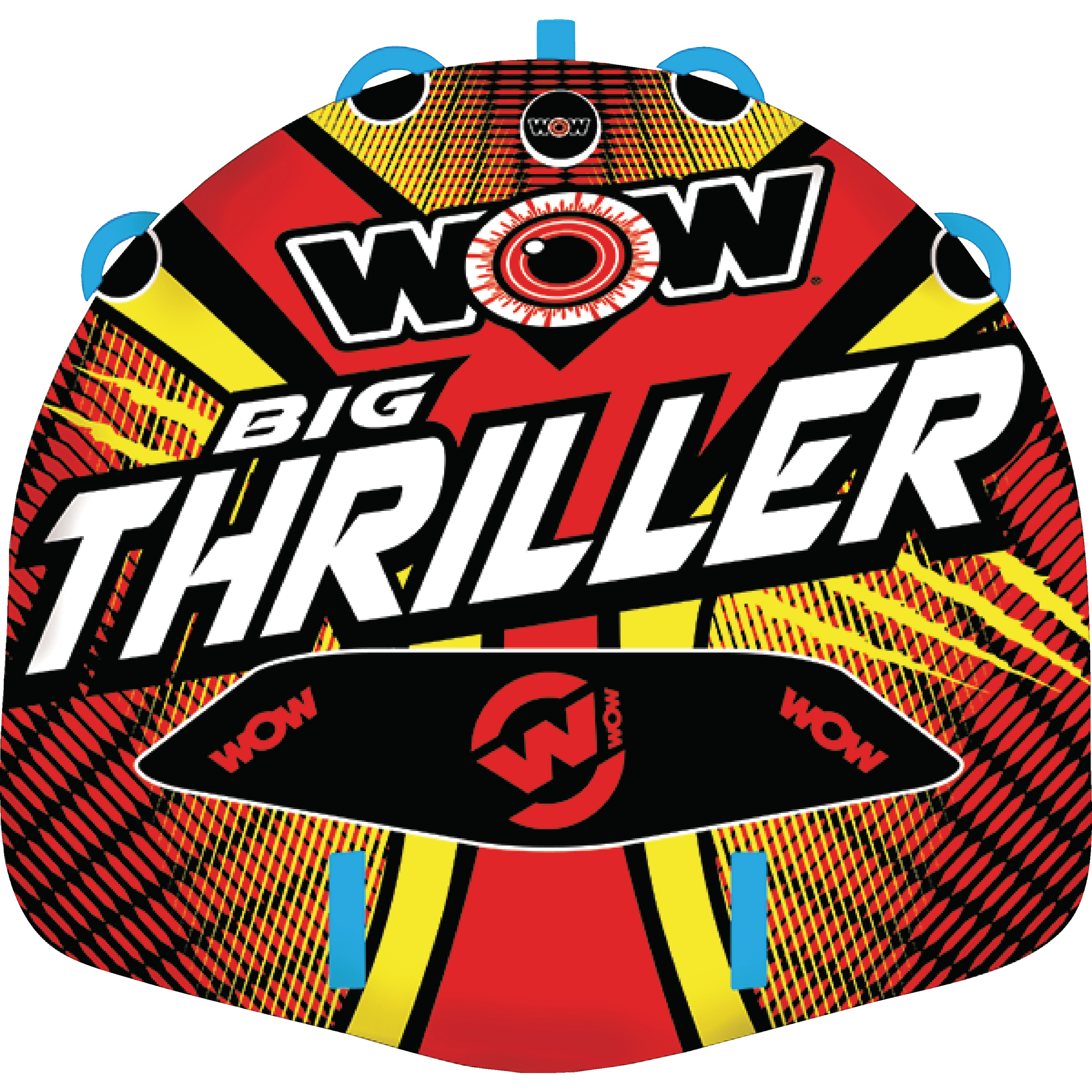 WOW 181010 Big Thriller Inflatable Towable for 1-2 Riders by WOW Watersports USA